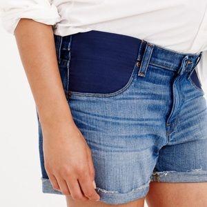J. Crew (Maternity) Denim Shorts-Size 27